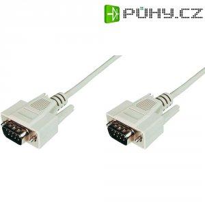 Sériový kabel D-SUB zásuvka ⇔ zásuvka, 3 m