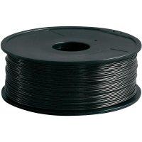 Náplň pro 3D tiskárnu, Renkforce ABS175B1, ABS, 1,75 mm, 1 kg, černá
