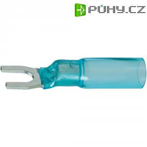Izolovaná kabelová vidlice, M4, 1.5 - 2.5 mm², modrá