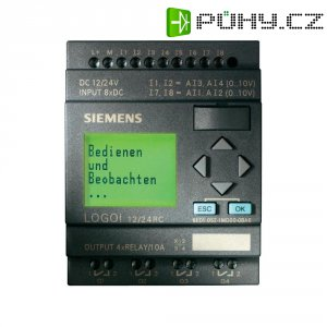 PLC řídicí modul Siemens LOGO! 6ED1052-1HB00-0BA6, 24 V/DC