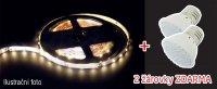 LED pásek AKCE 5050 60LED/m IP44 14.4W/m TEPLÁ, 5m + 2 LED žárovky zdarma v hodnotě 138,-
