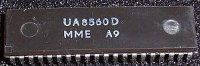 U8560D - 8.bit MCU, DIP40