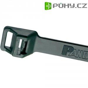 Stahovací pásek s očkem UV odolný Pan-Ty Panduit PLT6EH-C0, 564 x 12,7 mm, černá