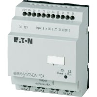 Řídicí reléový PLC modul Eaton easy 512-DA-RCX (274107), IP20, 4x relé, 12 V/DC