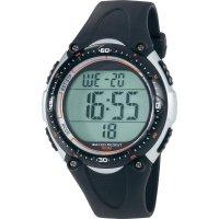 Digitální náramkové hodinky Renkforce Multi YP-06334A-02, vodotěsné, černá
