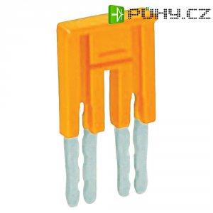 Můstek 6nás. Wago 282-436, izolovaný, oranžová