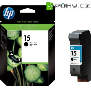 Cartridge do tiskárny HP C6615DE (15), černá