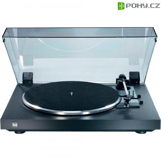 Gramofon Dual CS 415-2, řemínkový pohon, černá - Kliknutím na obrázek zavřete