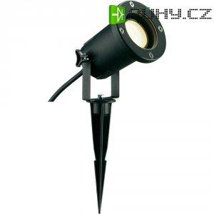 Venkovní zapichovací svítidlo SLV Nautilus Spike ESL, černá
