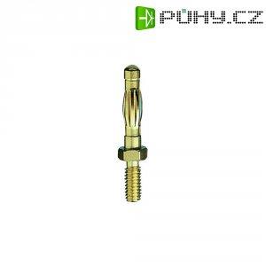 Měřicí lišta MultiContact 22.1054, SA404, zástrčka rovná, 4 mm, (Ø) 4 mm, mosaz