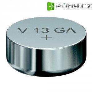 Knoflíková baterie LR44, Varta AG13, alkalicko-manganová, 4276101401