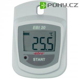 Teplotní datalogger ebro EBI 20-T1, -30 až +60 °C, 1kanálový
