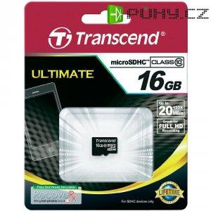 Pamětová karta microSDHC Transcend 16GB, Class 10
