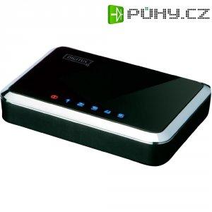 Síťový switch, 5x port, 100 Mbit/s, Digitus DN-50011