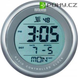 Digitální DCF hodiny do sprchy Eurochron EFBU 811, 100 x 56 mm, šedá