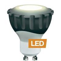 LED žárovka Ledon MR16, 28000174, GU10, 4,8 W, 230 V, 56 mm, stmívatelná, teplá bílá