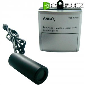 Bezdrátový senzor s externí sondou teploty a vlhkosti Arexx TSN-TH77
