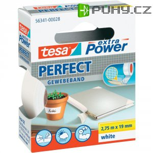 TesaR EXTRA POWER TEXT. BÍLÁ,x50m
