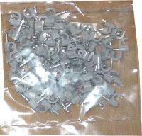 Kabelová příchytka 5mm šedá, balení 100ks
