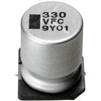 SMD kondenzátor elektrolytický Panasonic hliník EEEFC0J221P, 220 µF, 6,3 V, 20 %, 8 x 6,2 mm