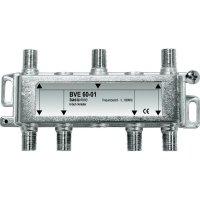 Anténní rozbočovač, 5 - 1000 MHz, 6násobný