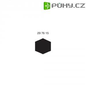 Mosazný profil šestihranný 2 mm, 500 mm