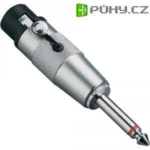 Redukce jack (M) 6,3 mm / XLR (F)