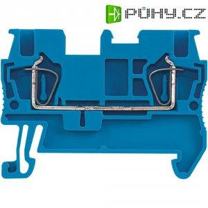 Průchodová svorka s tažnou pružinou Phoenix Contact ST 1,5 BU (3031089), modrá