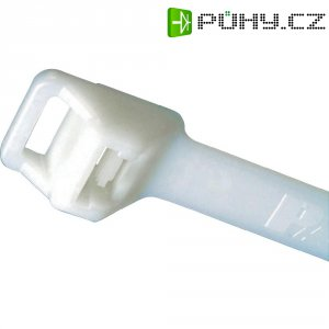 Stahovací pásek s očkem Pan-Ty Panduit PLT5EH-C, 511 x 12,7 mm, přírodní