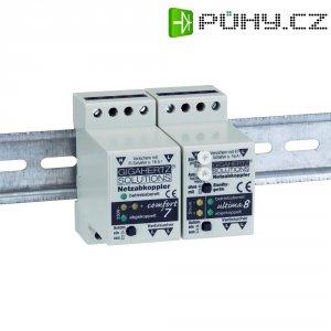 Síťový rozpojovač Gigahertz Comfort 1, 230 V/AC, 10 A, 15 mV