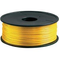 Náplň pro 3D tiskárnu, Renkforce HIPS175J1, materiál HIPS, 1,75 mm, 1 kg, zlatá