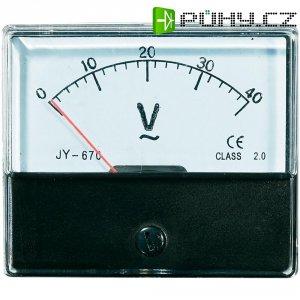 Analogové panelové měřidlo VOLTCRAFT AM-70X60/40V 40 V