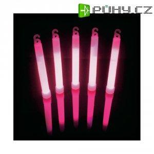Neonová světelná tyčinka, 15 cm, růžová