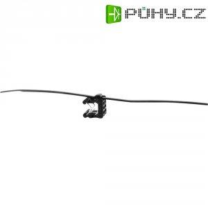 Stahovací psáky HellermannTyton T50ROS-EC23, 200 x 4,6 mm, černá