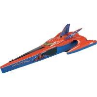 RC model člunu Dickie Toys Boot Spider-Man, vč. RC soupravy, 27+40 MHz, RtR