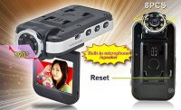 Minikamera CL802HD se záznamem AVI/JPEG+zvuk, vadná
