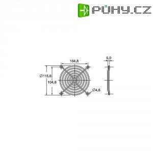 Ochranná mřížka ventilátoru Panasonic ASFN18001, 120 mm x 120 mm