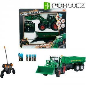 RC model traktoru s valníkem Dickie Toys (201119266)