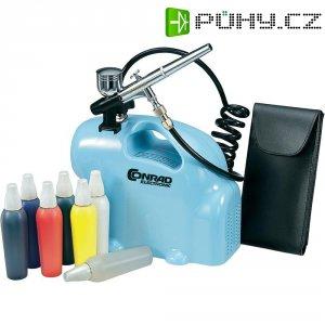 Sada profi Airbrush s kompresorem, 0,8 - 2,5 bar
