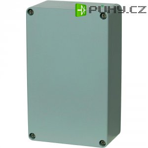 Hliníkové pouzdro Fibox ALN 081306, (š x v x h) 127 x 81 x 56,5 mm, stříbrná (AL 081306)