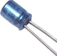 10u/40V 85°C ISKRA 5x7x2mm, elektrolyt.kondenzátor radiální
