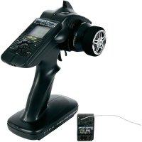 RC souprava volantová Carson Reflex Wheel Pro II LCD, 3-kanálová, 2,4GHz FHSS