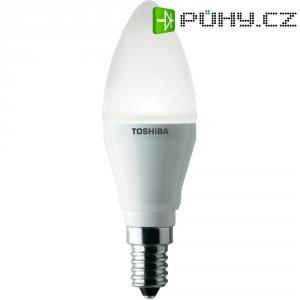 LED žárovka Toshiba Retrofit Esvíčka 6 W teplá bílá matná 2