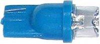 Žárovka LED T10 12V/0,25W modrá