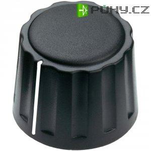 Otočný knoflík Mentor 4332.4001, 4 mm, matně černá