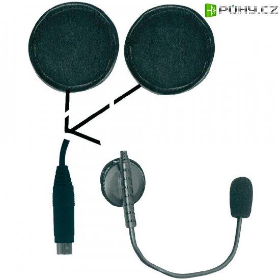 Headset do přilby Alan OHS 500 - Kliknutím na obrázek zavřete