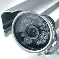 Barevná monitorovací kamera Sygonix, 43546A, Wi-Fi/LAN, 640 x 480 px