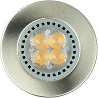 Sada vestavných LED osvětlení JEDI Lighting Optima S35 JE11537, 3 ks, nikl