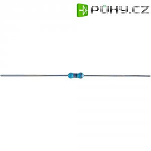 Metalizovaný rezistor, 240 Ω , 1 %, 0207, axiální vývody, 0,25 W, 1 %, 100 ks