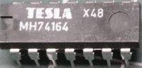 74164 8-bit posuvný registr s nulováním, DIL14 /MH74164,54164/